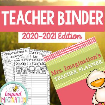 Teacher Planner 2017-2018 Editable Free Updates