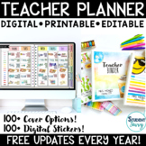 Teacher Binder  Editable Teacher Planner