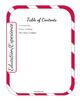 Editable Teacher Binder Bundle (Candy Cane)