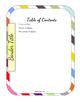 Editable Teacher Binder Bundle (Rainbow)