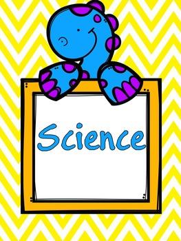 Editable Teacher Binder {Chevron and Dinosaur}
