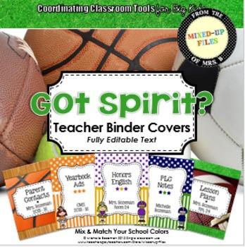 Got Spirit Editable Binder Covers