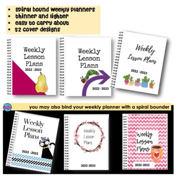 Teacher Binder-Editable FREE Updates for Life-[Teacher Weekly Planners & Forms]