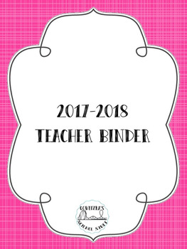 Editable Teacher Binder - FREE updates for life