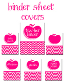 Editable Teacher Binder Font included!