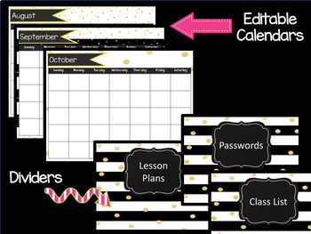 Editable Teacher Binder (Google Slides)
