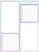 Editable Teacher Binder & Lesson Planner Bundle 17-18: Teal and Purple Geometric