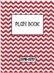 Editable Teacher Binder & Plan Book Bundle - Chevron
