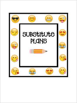 Editable Teacher Binder & Plan Book Bundle - Emoji