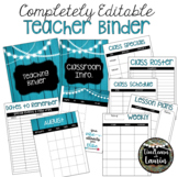 *NEW*  Editable Teacher Binder & Planner (includes Sub Binder)