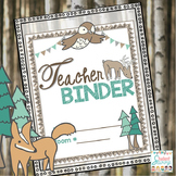 Teacher Binder Woodland 2018-2019