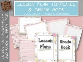 Editable Teacher Binder with Free Updates   Hearts