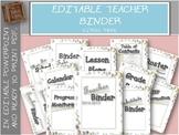 Editable Teacher Binder with free updates | Circle