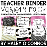 Editable Teacher Bundle {6 Complete Styles to Choose From}