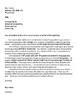 Editable Teacher Cover Letter- For Recent College Grads!