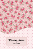 Editable Teacher Folder / Binder Covers - Pink Floral
