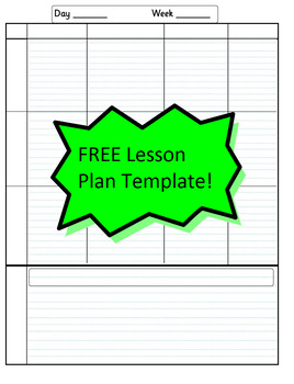 Editable Teacher Gradebook - Printable. FREE lesson plan template included!