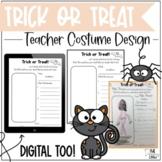 Editable Teacher Halloween Costume Design Writing