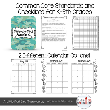 Editable Teacher Lesson Planner (Camo Theme)