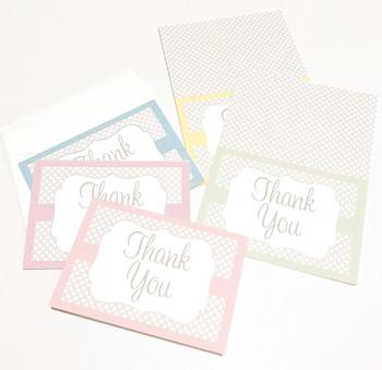 Thank You Card EDITABLE - Note Card - Postcard