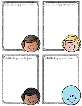 Editable Teacher Notes (Color) | 4 Per Page