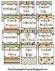 *Editable* Teacher Organizational Binder - The Colors of Dr. S!