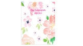 Editable Teacher Planner 2018-19 - Floral - FREE EDITS FOR LIFE