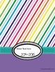 Editable Teacher Planner, Calendar, and Organizer--Rainbow Brights