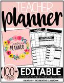 Editable Teacher Planner & Organizer Binder {The Beautiful Teacher}