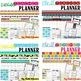 Editable Teacher Planner Preview