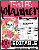 Editable Teacher Planner & Organizer Binder {The Classy Teacher}