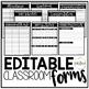 Editable Teacher Planner {The Classy Teacher}