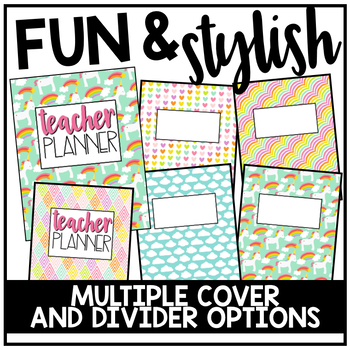 Editable Teacher Planner & Organizer Binder {The Magical Teacher}
