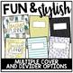 Editable Teacher Planner & Organizer Binder {The Sweet Teacher}
