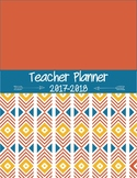 Editable Teacher Planner for High School and Middle School