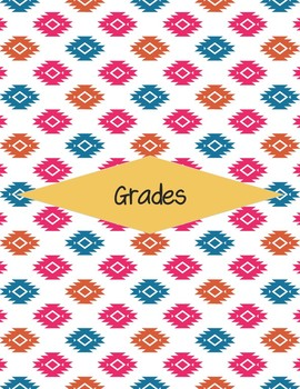 Editable Teacher Planner for High School and Middle School - Aztec Pink