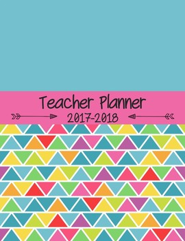 Editable Teacher Planner for High School and Middle School