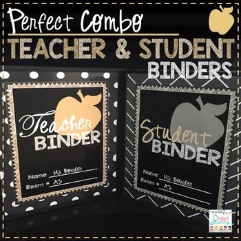 Teacher & Student Binder