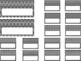Editable Teacher Toolbox {Black Dots & Chevron}