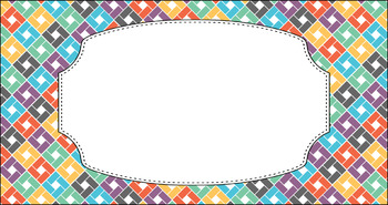 Editable Teacher Toolbox Labels - Multi-Color Collection: Almost Fall