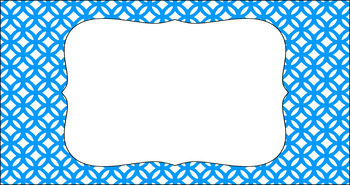 Editable Teacher Toolbox Labels - Basics: Abstract Circles and White