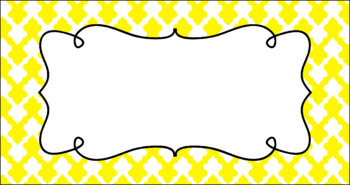 Editable Teacher Toolbox Labels - Basics: Clubs and White
