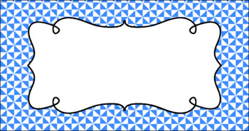 Editable Teacher Toolbox Labels - Basics: Triangles and White