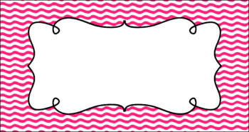 Editable Teacher Toolbox Labels - Basics: Waves and White