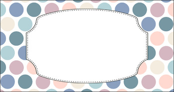 Editable Teacher Toolbox Labels - Multi-Color Collection: Beach Sunrise