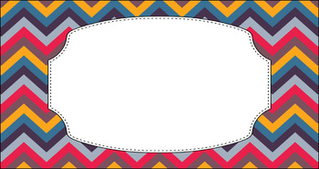 Editable Teacher Toolbox Labels - Multi-Color Collection: Bonfire