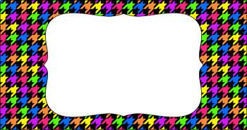 Editable Teacher Toolbox Labels - Bright