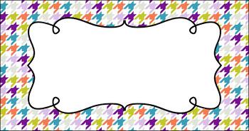 Editable Teacher Toolbox Labels - Brunch