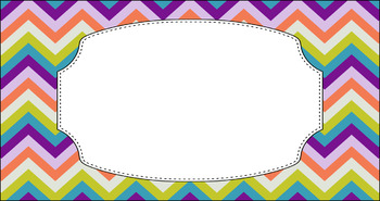 Editable Teacher Toolbox Labels - Multi-Color Collection: Brunch