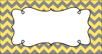Editable Teacher Toolbox Labels - Cloudy Day